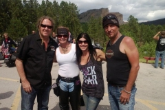 group of 4 people from Full Throttle Ride