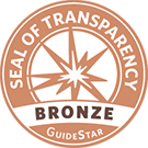Seal of Transparency Bronze GuideStar symbol
